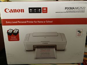 Cannon pixma MG2522 brand new printer comes with ink for Sale in Monterey Park, CA