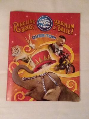 Ringling Bros Barnum & Bailey Circus Programs for Sale in Brunswick, OH
