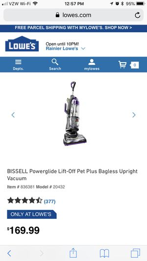 Bissell vacuum (brand new!) for Sale in Seattle, WA