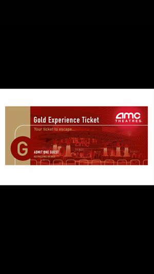 Amc movie vouchers for Sale in Los Angeles, CA