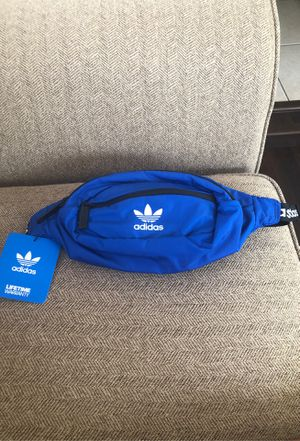 Adidas Originals National Waist Pack Cross Body Bag Adjustable Royal Blue Fanny for Sale in St. Cloud, FL
