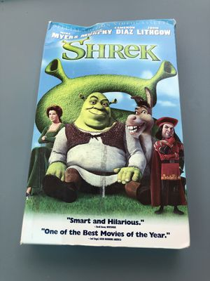 Shrek on VHS for Sale in Pearland, TX
