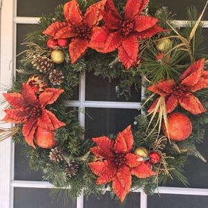 Beautiful large Christmas wreath for Sale in Sylmar, CA