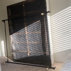 QUEEN BOX SPRING AND FRAME for Sale in Visalia,  CA