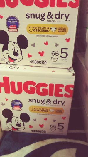 Diapers Huggies snug and dry for Sale in Kent, WA