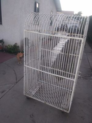 Bird cage parrot good to go...also have other ones for more info for Sale in Bell Gardens, CA