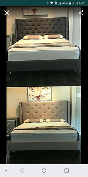 BRAND NEW QUEEN SIZE BEDS FOR SALE WITH MATTRESS AND FREE DELIVERY for Sale in Fort Worth, TX