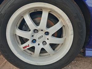 Mugen nr rims... Serious inquiries for Sale in Apple Valley, CA