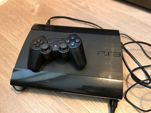 PS3 with controller for Sale in Washington, DC