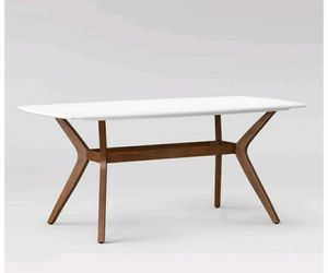 "72"" Mid Century Modern Dining Table for Sale in Grape Creek, TX"