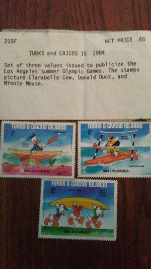 Disney stamps 1987 Olympics for Sale in Vidalia, GA