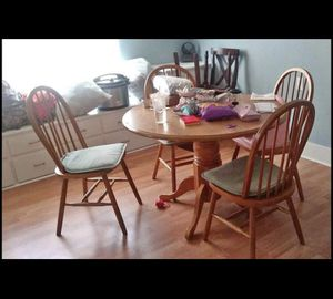 Wood dining table for Sale in St. Cloud, FL