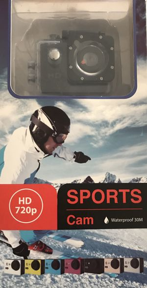Sports Camera Recorder (cam pro) $40 (NIB) for Sale in St. Louis, MO