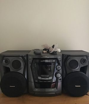 Panasonic CD stereo system for Sale in Portland, OR