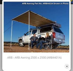 ARB Awning 2500 x 2500 (ARB4401A) for Sale in Grand Blanc, MI