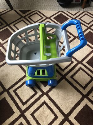 Kids plastic shopping cart for Sale in Brentwood, TN