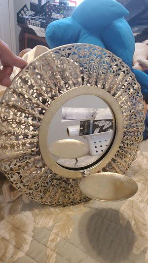 Mirror with candle holder for Sale in Davenport, FL