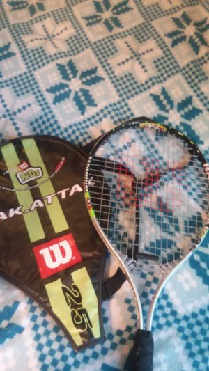 Youth Wilson Rak.Attak Tennis Racket for Sale in Kirkland, WA