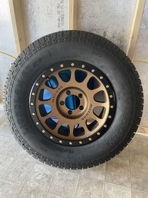 Brand new METHOD Bronze wheels With new tires for Sale in Philadelphia, PA