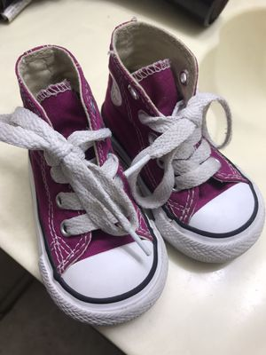 Baby hightop converse size 3 for Sale in Tolleson, AZ