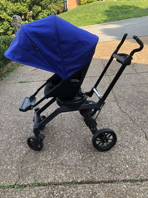 Orbit baby stroller seat with blue sunshade for Sale in Nashville, TN