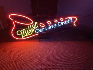 Miller Neon sign for Sale in Lincoln, NE