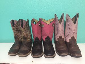 Leopard Ariat Boots size 2 $25 for Sale in Mission, TX