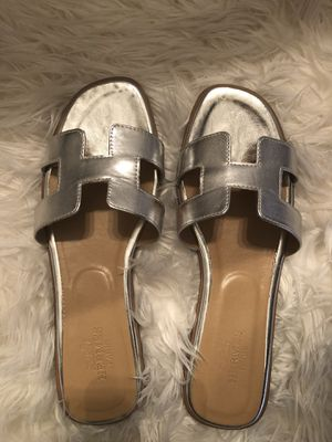 Authentic Hermes Oran Sandals (US 9) for Sale in Carrollton, TX