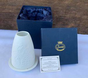 """Sorelle Fine Porcelain Christmas """"Angels & Snowman"""" Tea-light Candle Votive (NEW) for Sale in Gretna, LA"""