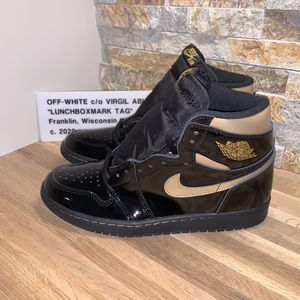 "*EARLY PAIR* Nike Air Jordan 1 ""Black/Metallic Gold"" • Size 9 • DS for Sale in Franklin, WI"