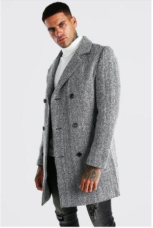 Express Men's Wool Coat Jacket Overcoat Trench Coat Winter Jacket for Sale in Kent, WA