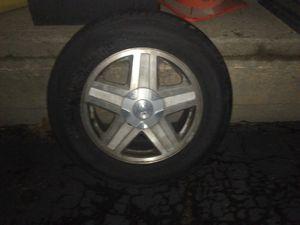 Bridgestone Dueler. HL. Alenzia. P245/65R17105T. A real spare tire! for Sale in Denver, CO