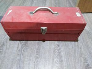 Vintage metal tool box for Sale in Williamsport, PA