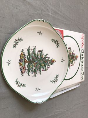"Spode Christmas 13"" Handled Cake Plate for Sale in Garland, TX"
