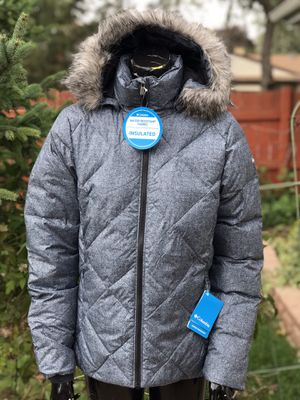 Columbia Women's Down Hooded Jacket Size M for Sale in Elk Grove Village, IL