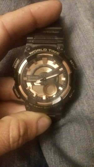 Casino watch needs battery (trade) for Sale in San Angelo, TX