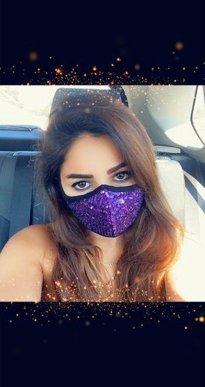 3-PACK Sequin Face Masks for Sale in Irvine, CA