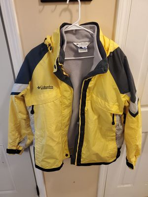 Columbia womens xl yellow jacket for Sale in Columbus, OH
