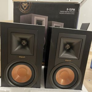 Klipsche R-15pm Monitor Speaker With Amp for Sale in Union City, NJ