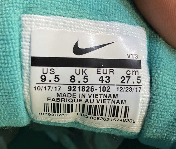 Nike Air Max 97 South Beach Size 9.5