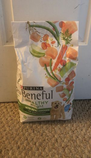 Purina Beneful Healthy Weight Adult Dog Food/ 3.5 LB/ 6bags/$20.00 for Sale in Staunton, VA