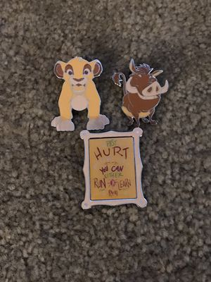 Disney Wisdom Collection Lion King Pin Set for Sale in Bothell, WA