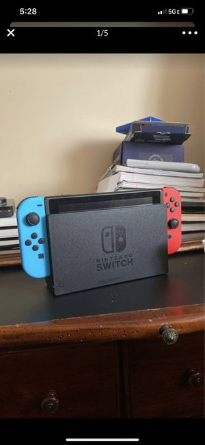 Nintendo Switch with Legend of Zelda and Smash Bros. for Sale in Strongsville, OH
