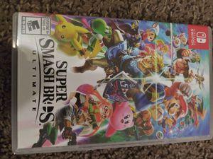 Super Smash Bros ultimate for Sale in Arvada, CO