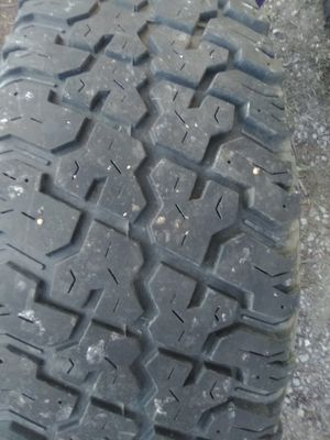 Cooper Discover ST 6 lug Dodge rims and tires and spare 80% tread spare is brand new for Sale in Bay City, MI