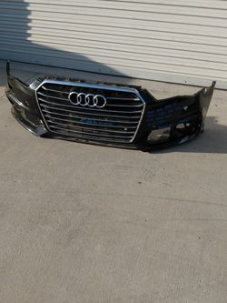 Audi A6 Front Bumper And Grille 2015 2016 2017 for Sale in Rancho Cucamonga,  CA