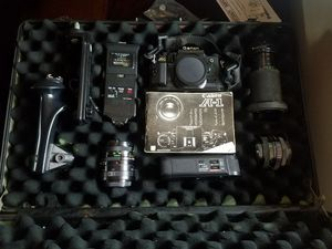 Vintage A1 Canon Film Camera with Accessories and Carrying Case for Sale in Lithonia, GA