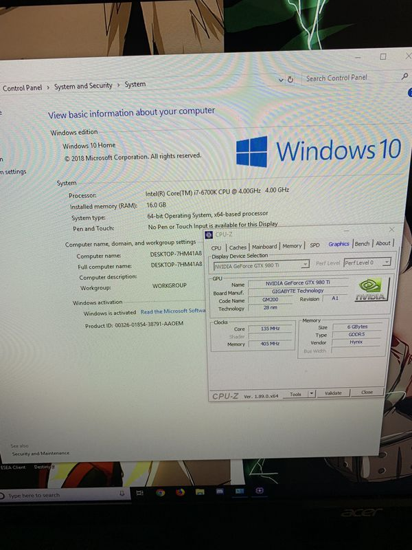 IBuyPower Custom Gaming Pc!!! ( i7 , 16gb DDR4 Ram, GTX 980 Ti)
