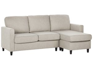 Convertible sectional Sofa Modern linen fabric and Wood for Sale in Fort Lauderdale, FL