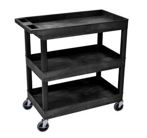 3-Shelf Plastic Work/Tools Cart, can hold 400 Lbs!!- Brand new in sealed box ! for Sale in Dallas, TX